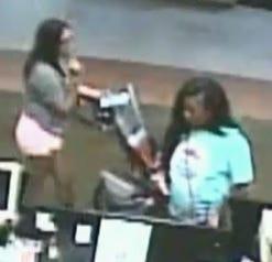 Still image from surveillance video
