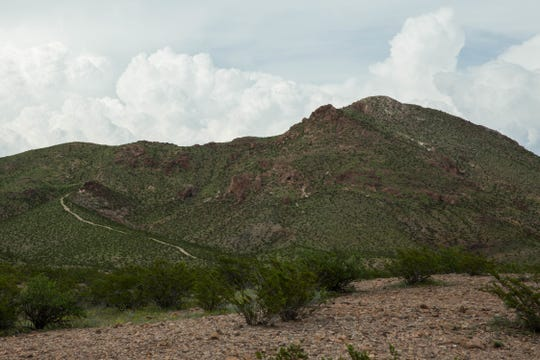 Picacho Peak has a 1.5-mile trail to the peak, with views of the Mesilla Valley and the Organ Mountains.