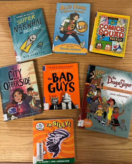 Examples Of Graphic Novels