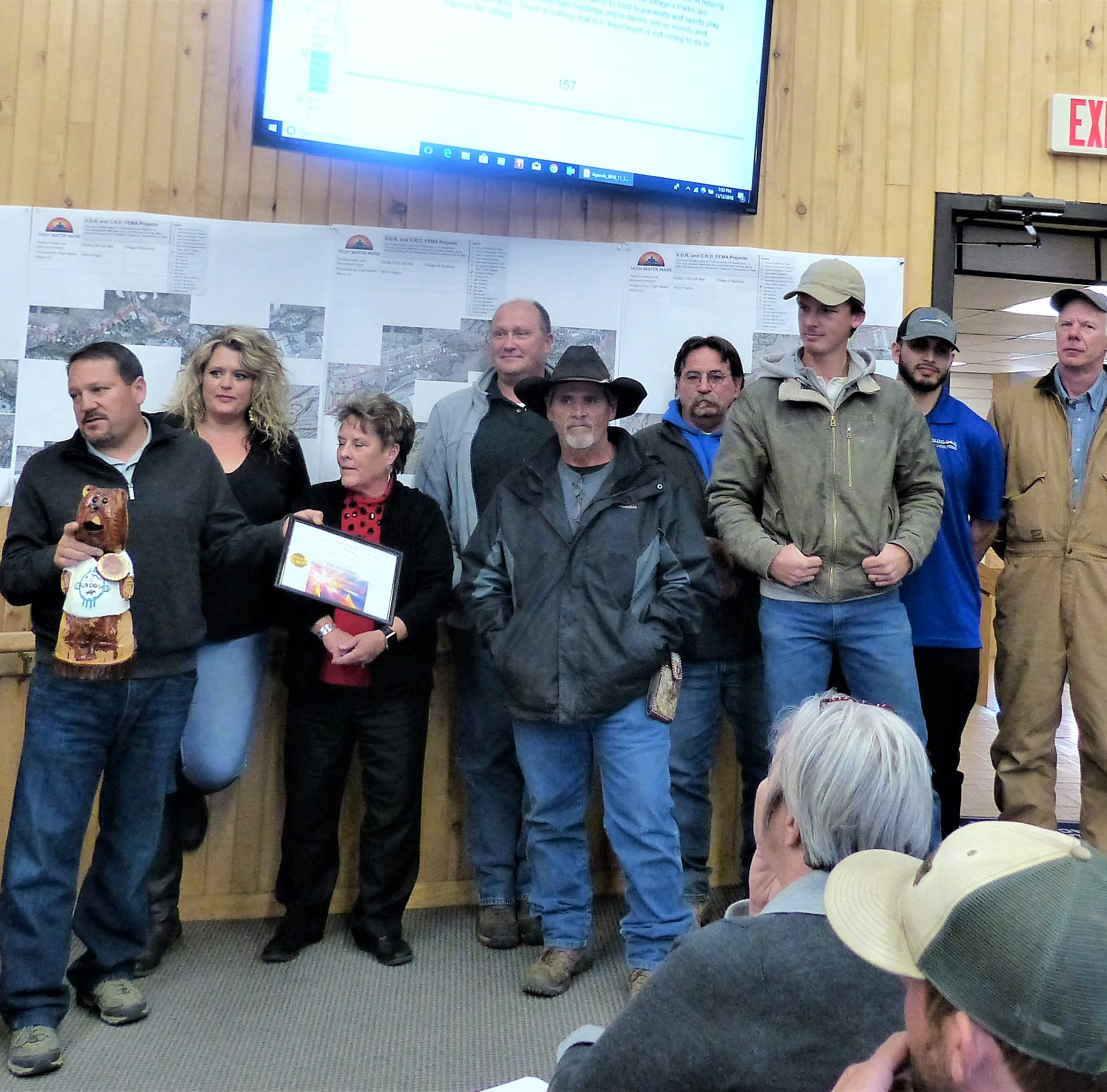 Ruidoso recognizes the outstanding among its own employees