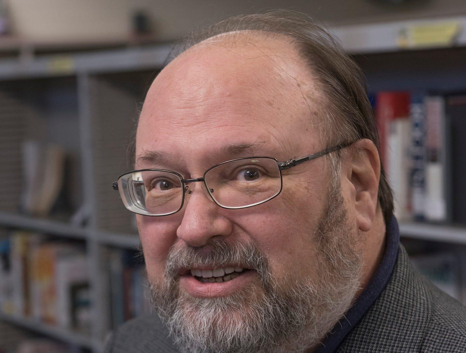 Author Joe McCauley.