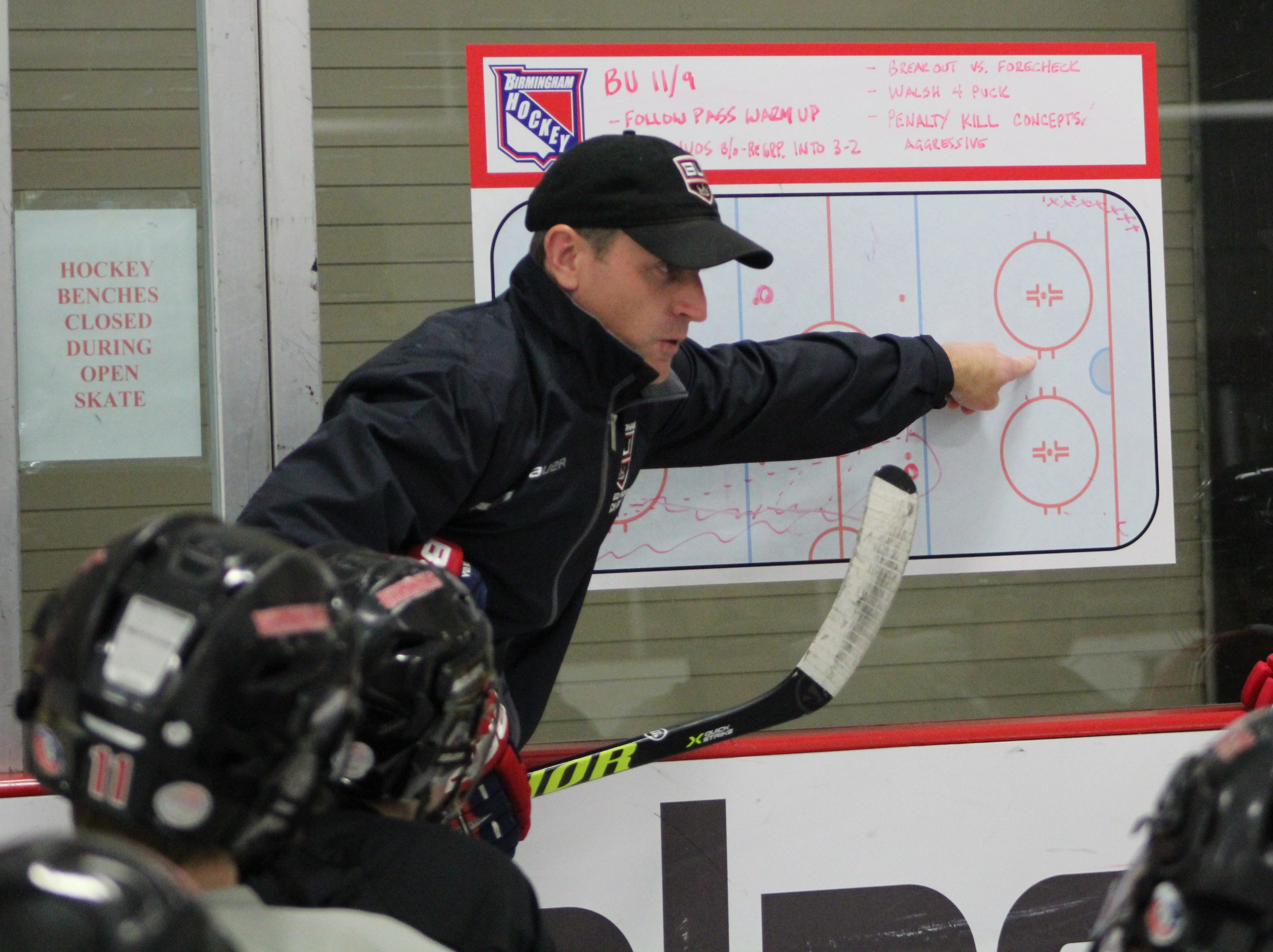 Mike Boback, a self-professed hockey addict, adds high school coach to his resume