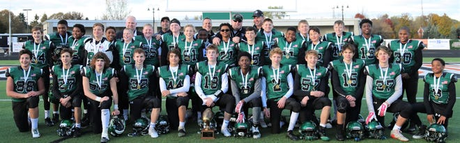 The Novi Bobcats finished their varsity season 9-0 and captured the Livingston County Area Football League title.