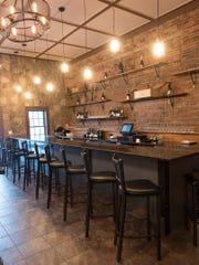 The Wine Studio's bar area.