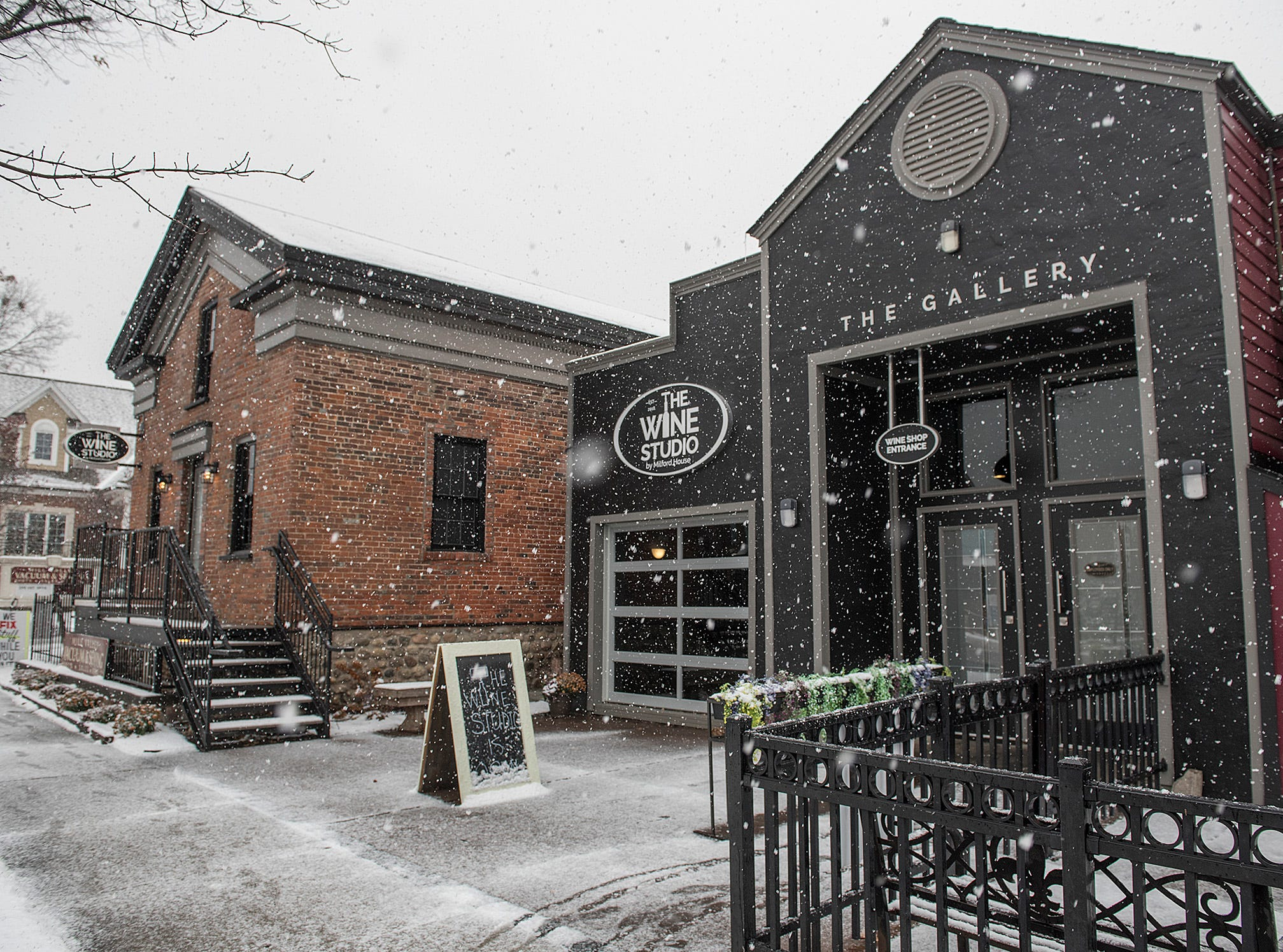 Taste wine by the glass or buy a bottle at the new The Wine Studio in downtown Milford