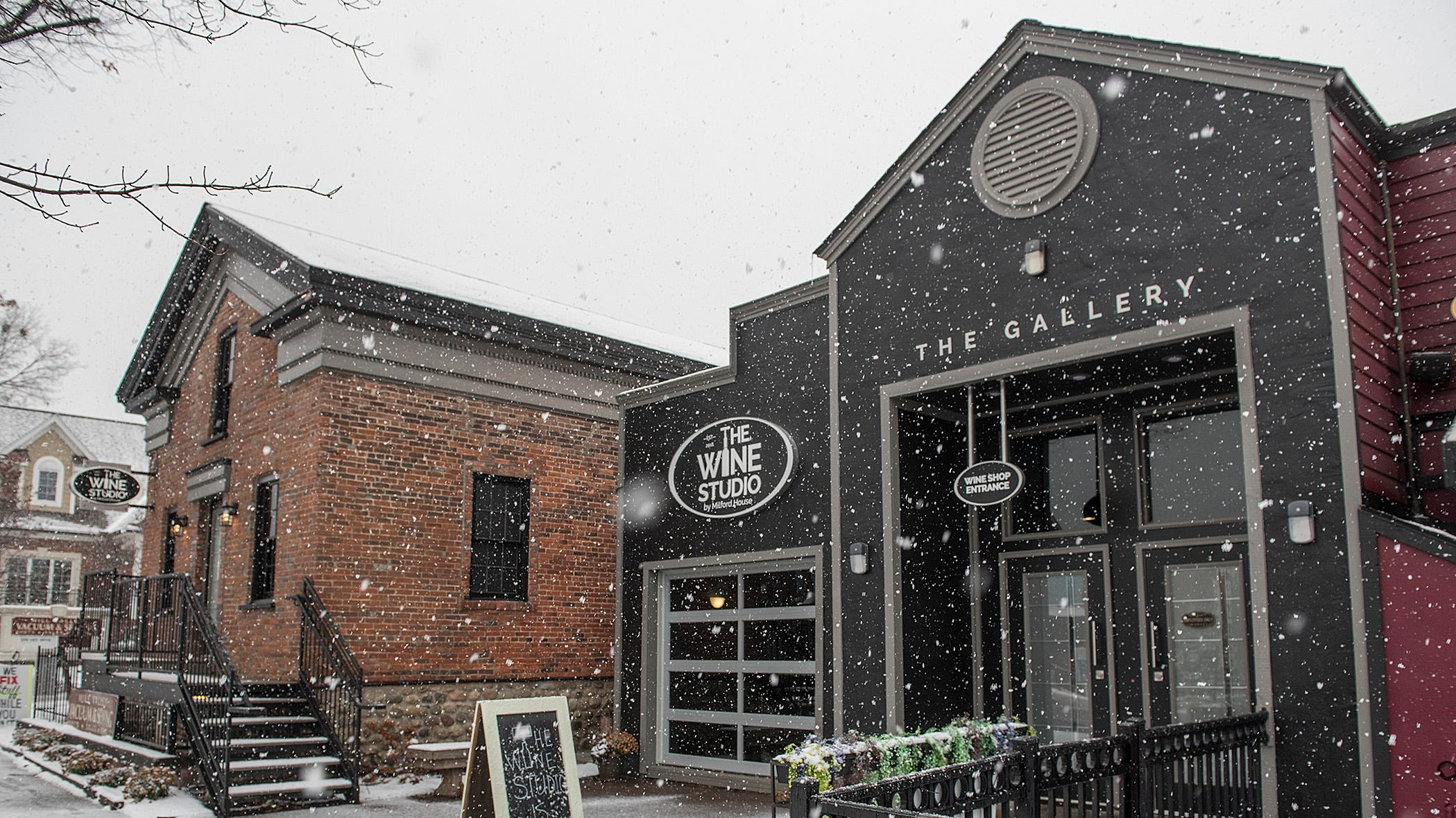 Welcome to the Wine Studio, located in downtown Milford.