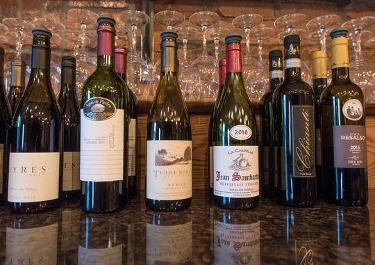 There's a good selection of wine by the glass.