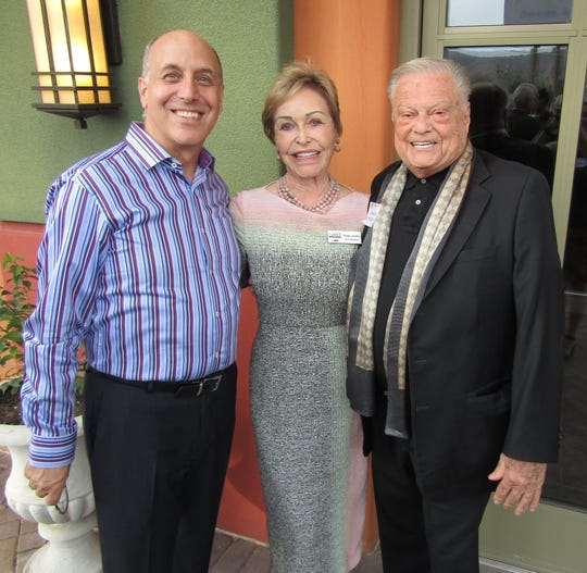 Ron Celona Creative Director, Peggy Jacobs, and Harold Matzner