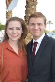 Kirsten Cunningham and Nick Wass.