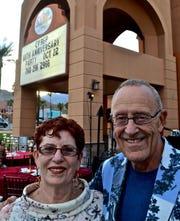 Janice and David Kaminsky. Photo by Sal Mistretta