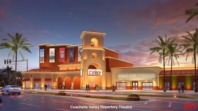 Rendering of the finished Theatre created by John Sergio Fisher