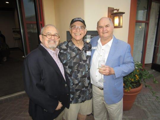 Sid Craig, Gavin MacLeod,and Jim Egan