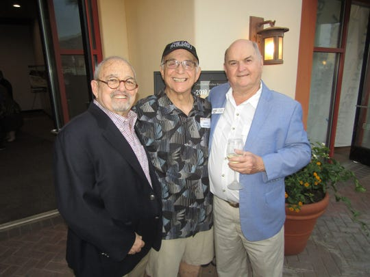 Sid Craig, Gavin MacLeod,and Jim Egan