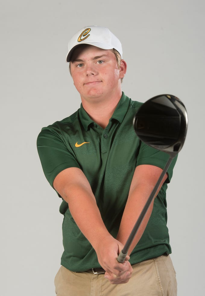 Justin Burroughs, Catholic… Boys Golfer of Year