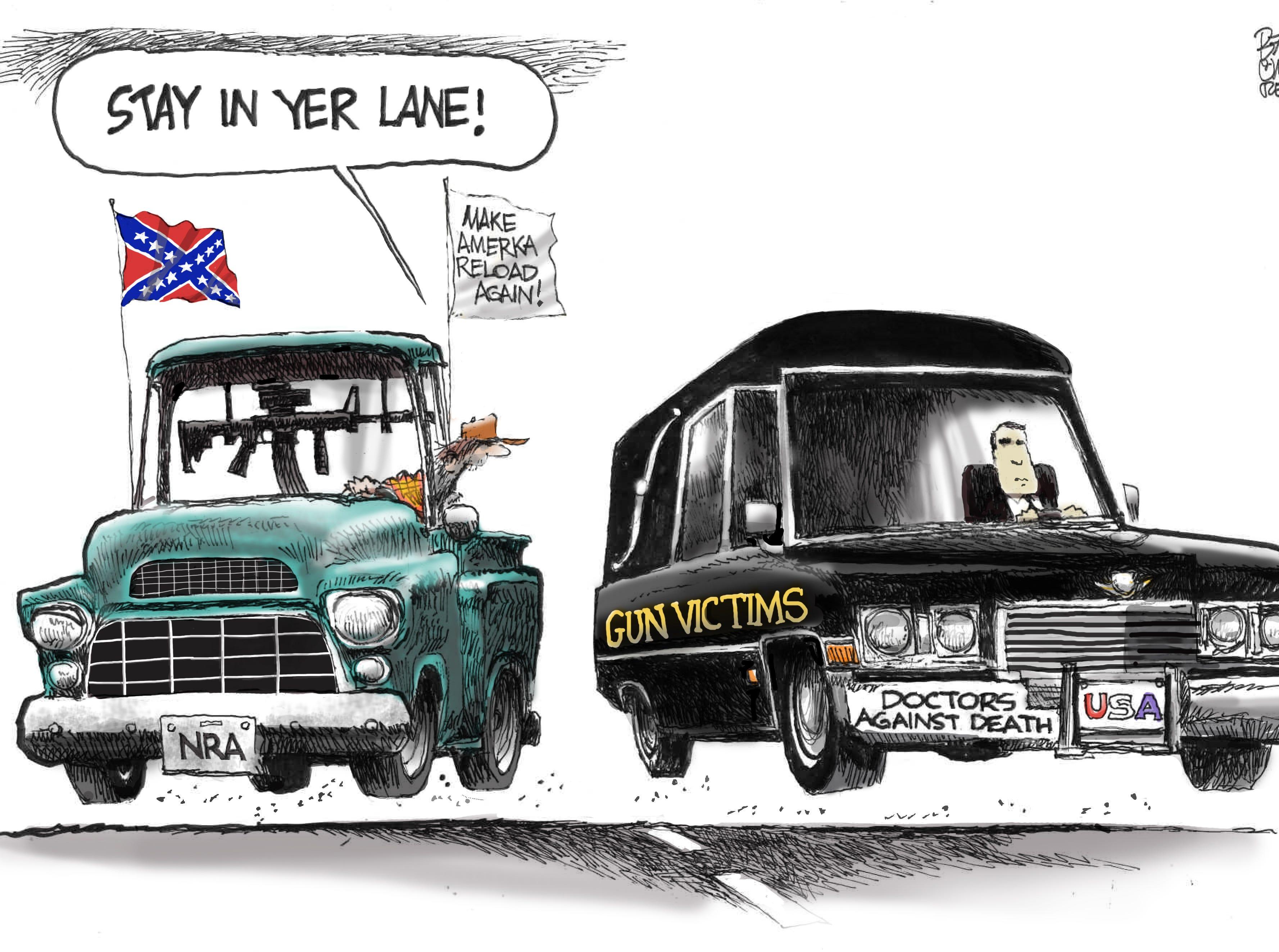 Cartoon for Nov. 15, 2018.