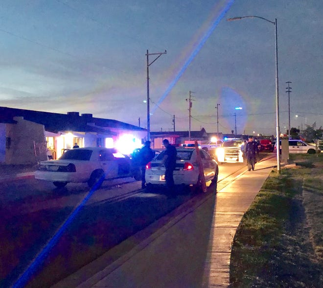 Phoenix police were at the scene of a shooting that left one person in extremely critical condition Wednesday night.