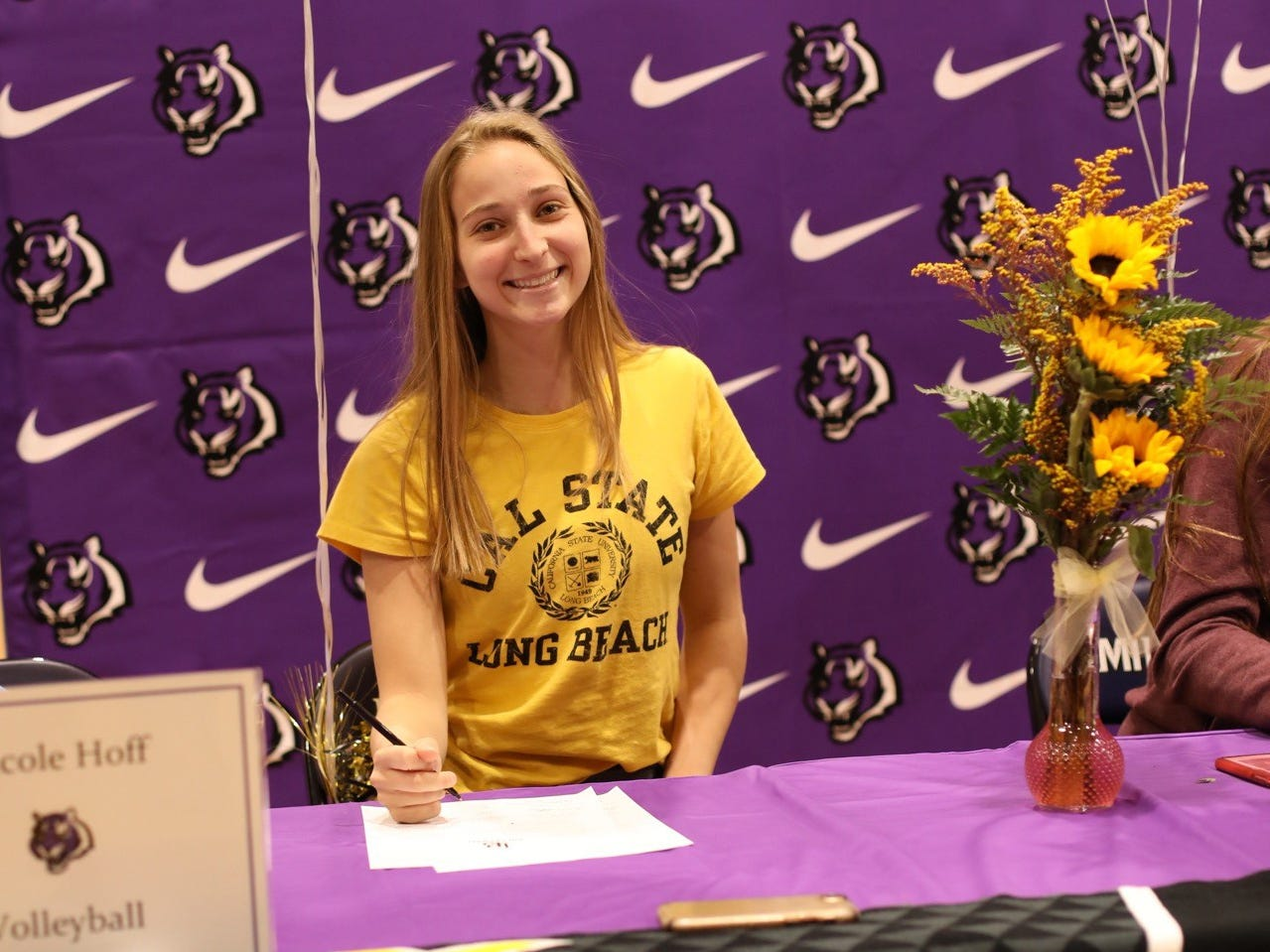 Nicole Hoff from Millennium High School, signed with Long Beach State