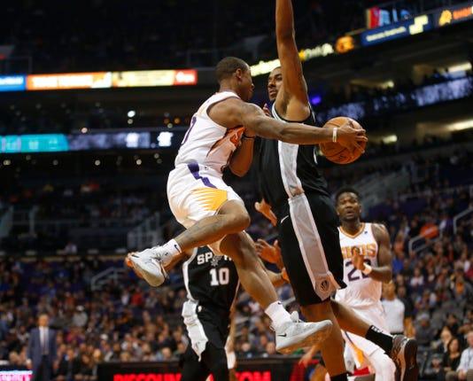 Phoenix Suns Vs San Antonio Spurs