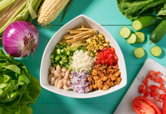 Tocaya Organica chop chop salad