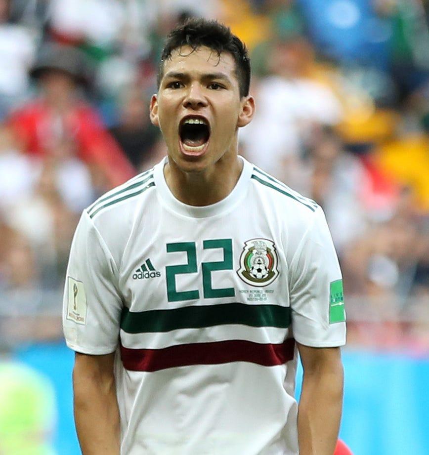 Korea Republic V Mexico Group F 2018 Fifa World Cup Russia