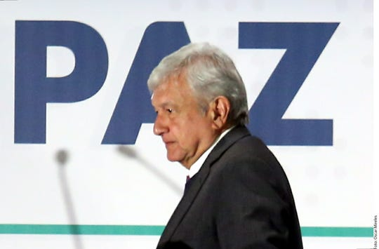 Andrés Manuel López Obrador, presidente electo de México.