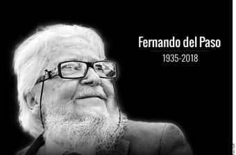 México lamentó el fallecimiento a los 83 años de Fernando del Paso, creador de obras maestras de la literatura nacional