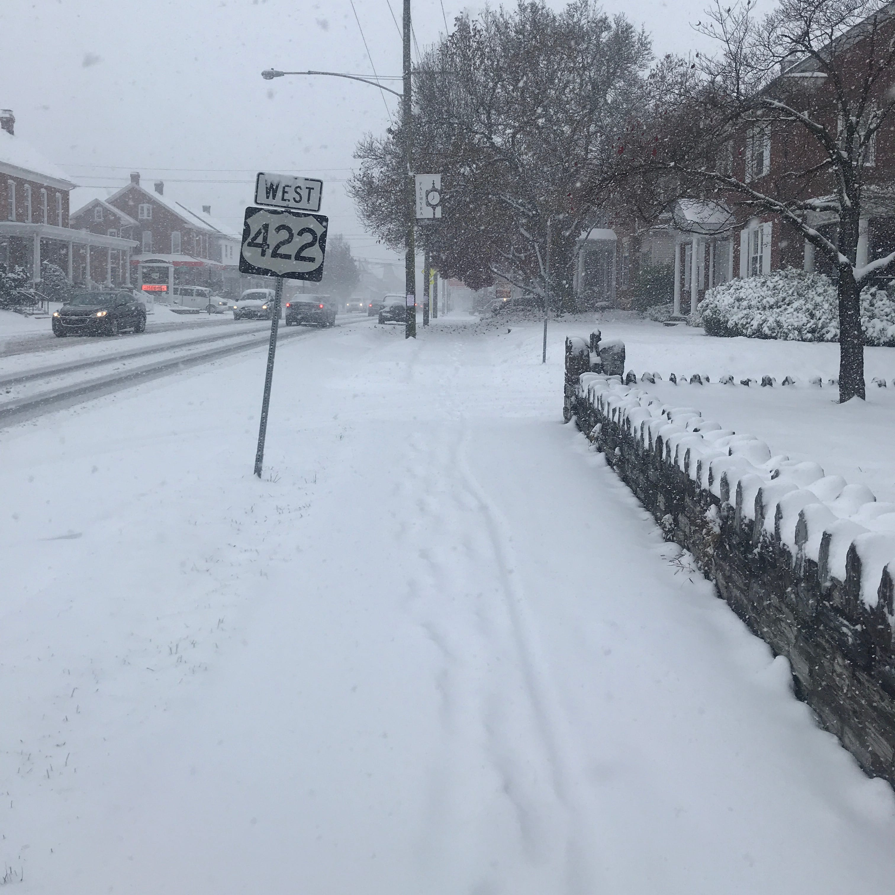 Updated: Lebanon gets 6 inches of snow, causing numerous crashes, slick roads and closings