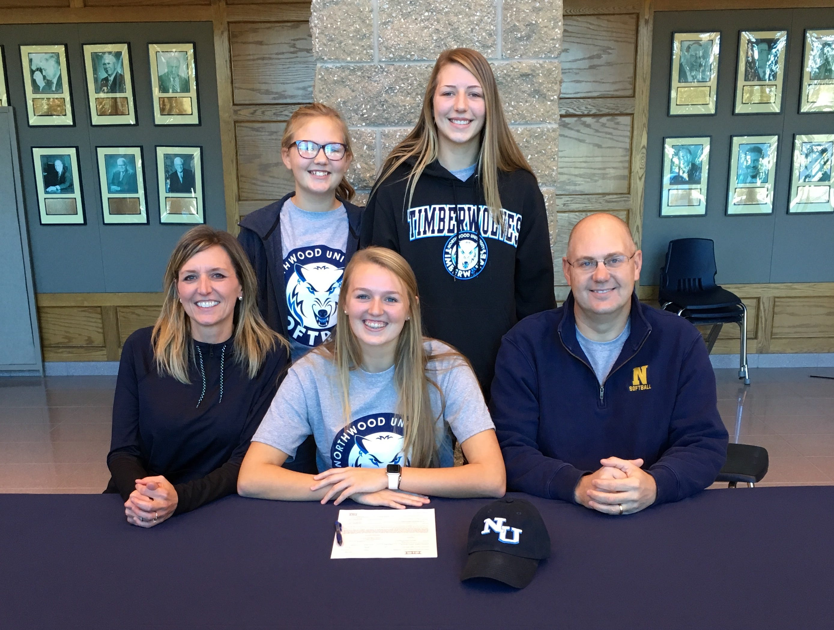 Port Huron Northern pitcher Riley Shagena signs with Northwood University