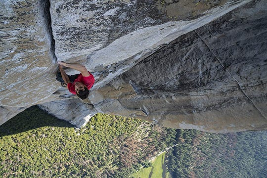 """Free Solo,"" a documentary about climber Alex Honnold, is playing at Small Star Art House."