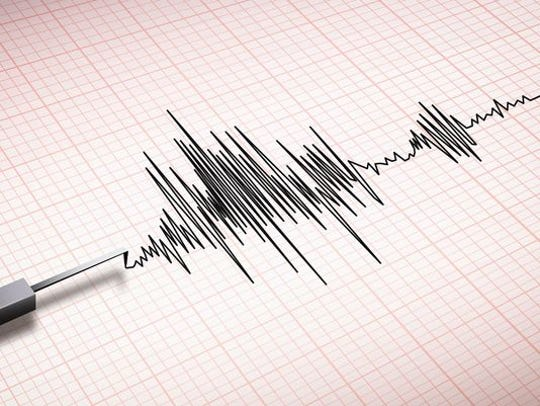 An earthquake was recorded in York County on Saturday night, according to the US Geological Survey.