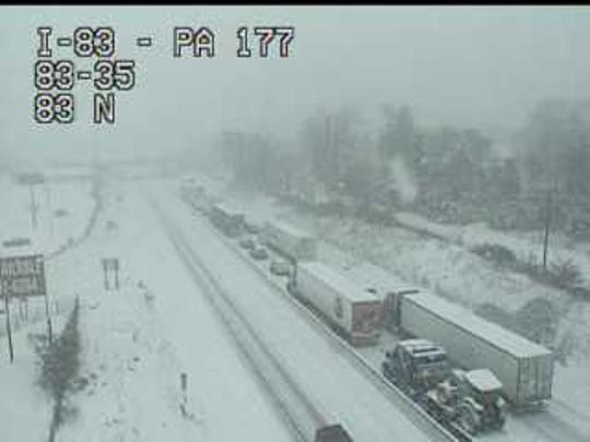 I-83 Northbound is currently experiencing standstill traffic 11/15