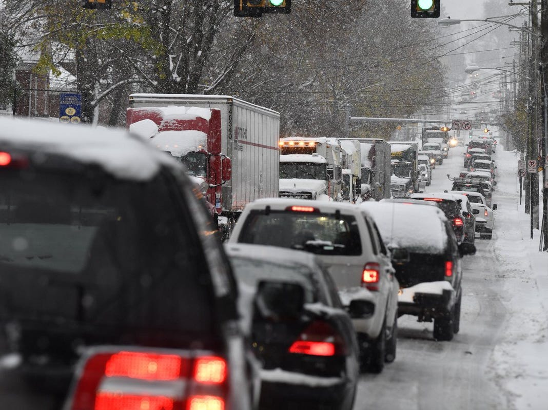 Crippling pre-Thanksgiving snow may be sign of worse winter than predicted