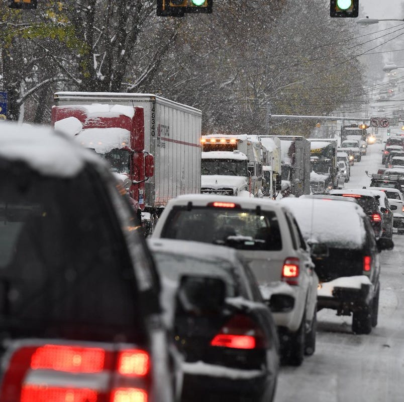 Precipitation over, but expect winds Friday; Interstate 83 is fully reopened