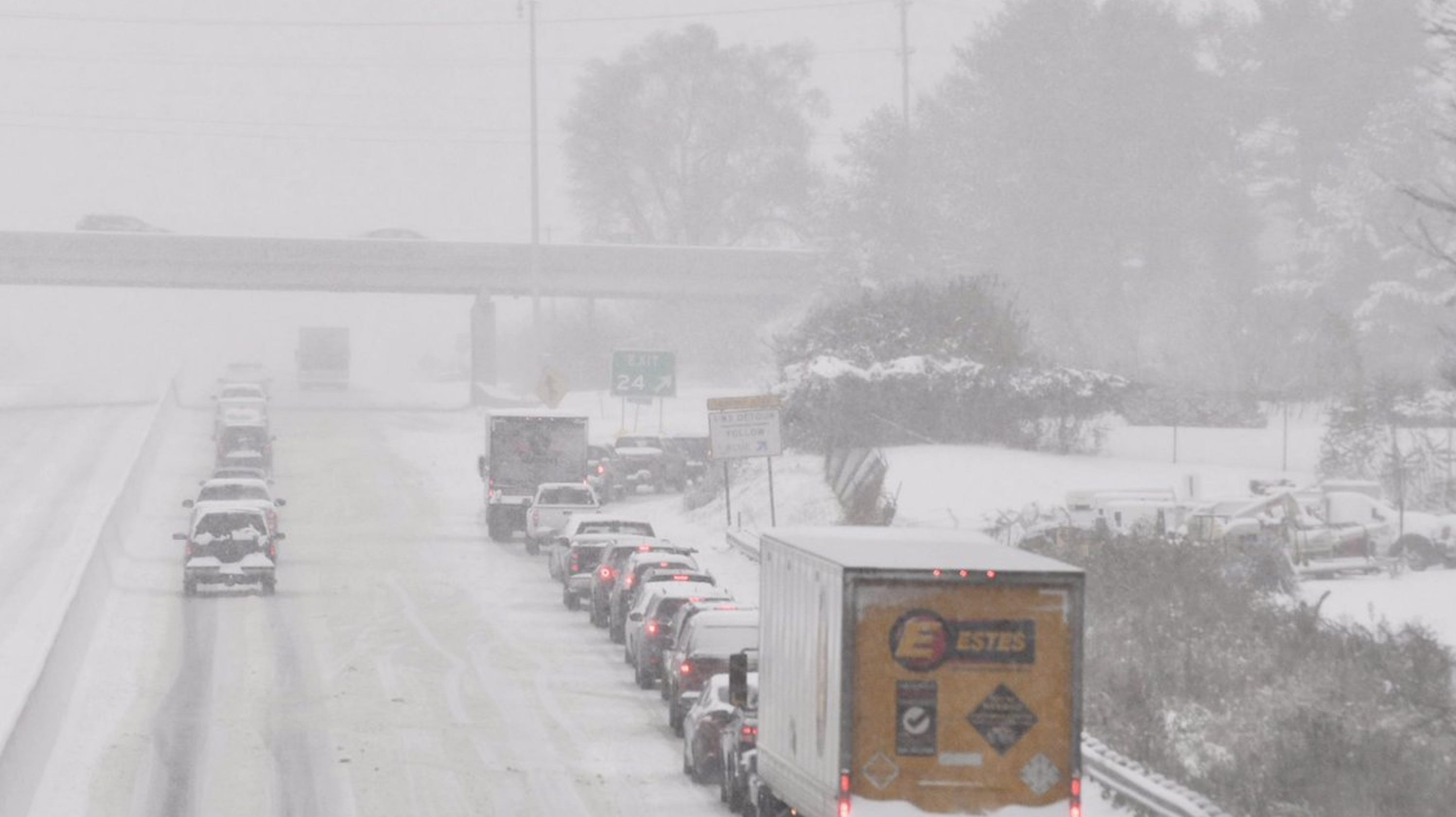 Pa  winter snow storm: PennDOT sets speed, vehicle restrictions