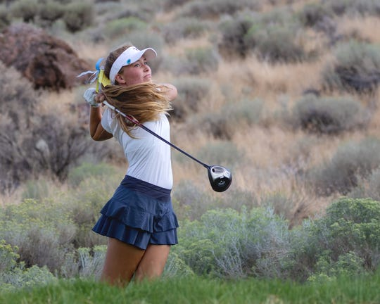 Reed senior Kaitlin Fleiner will play golf for Nevada next year.