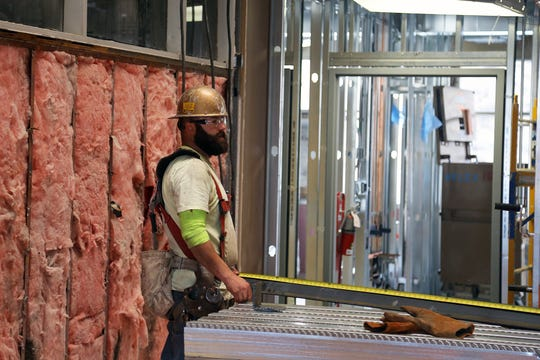 An image of construction work being done inside Northern Nevada Medical Center  on Aug. 15, 2018 as part of a multi-million dollar expansion.