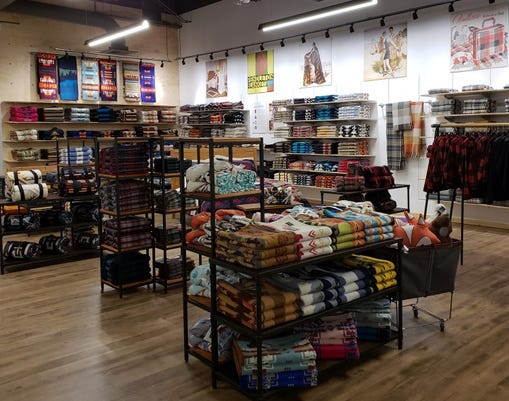 Pendleton Woolen Mills' new store at The Summit mall. The store, Pendleton's second Reno location, held a soft opening on Nov. 10 with a grand opening weekend from Nov. 16 to 18.