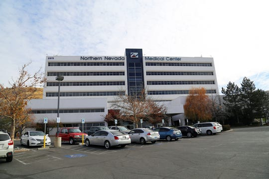 A photograph of Northern Nevada Medical Center taken on Aug. 15, 2018.