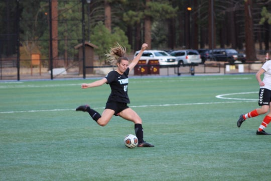 Carson graduate Valerie Sue Meyer has helped Lake Tahoe CC to the No. 2 national ranking.