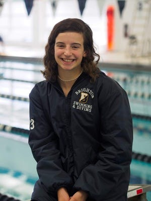 Brighton senior diver Hannah Butler is favored to win a state championship at the New York State Swimming and Diving Championships in Ithaca this weekend.