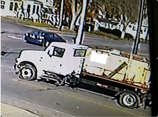 Irondequoit police on Nov. 15, 2018, released this photo of a truck that may have been in the area of a fatal hit-and-run on Nov. 10.