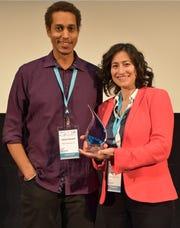 Jalani Kanem (left) and Dr. Yasaman Soudagar (right) of Neurescence become part of Luminate NY.
