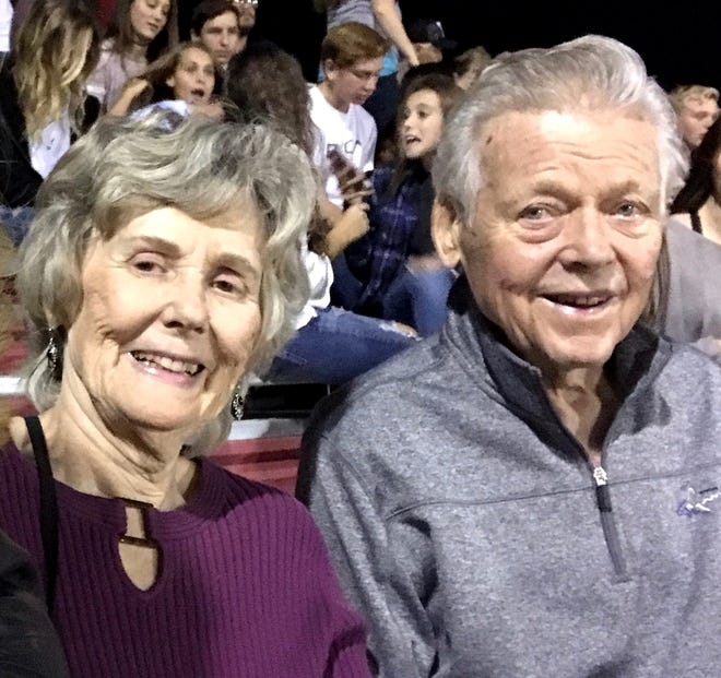 Gayle and Robert Christofferson in 2017. Christofferson died Nov. 5 at the age of 88.