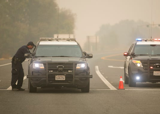 Camp Fire Chico Butte County Officer Involved Shooting