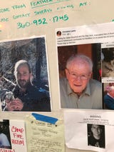 Elderly make up most of the missing in deadly California wildfire