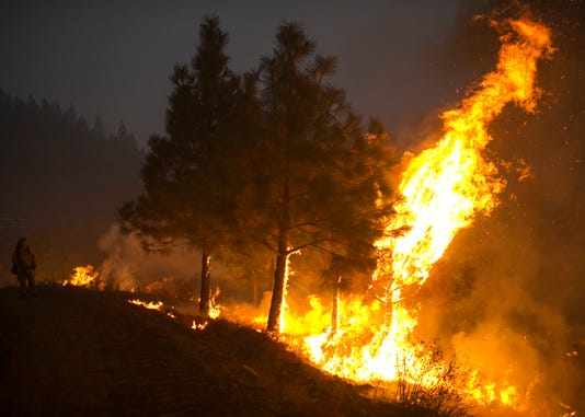 Camp Fire Chico Butte County Control Burn
