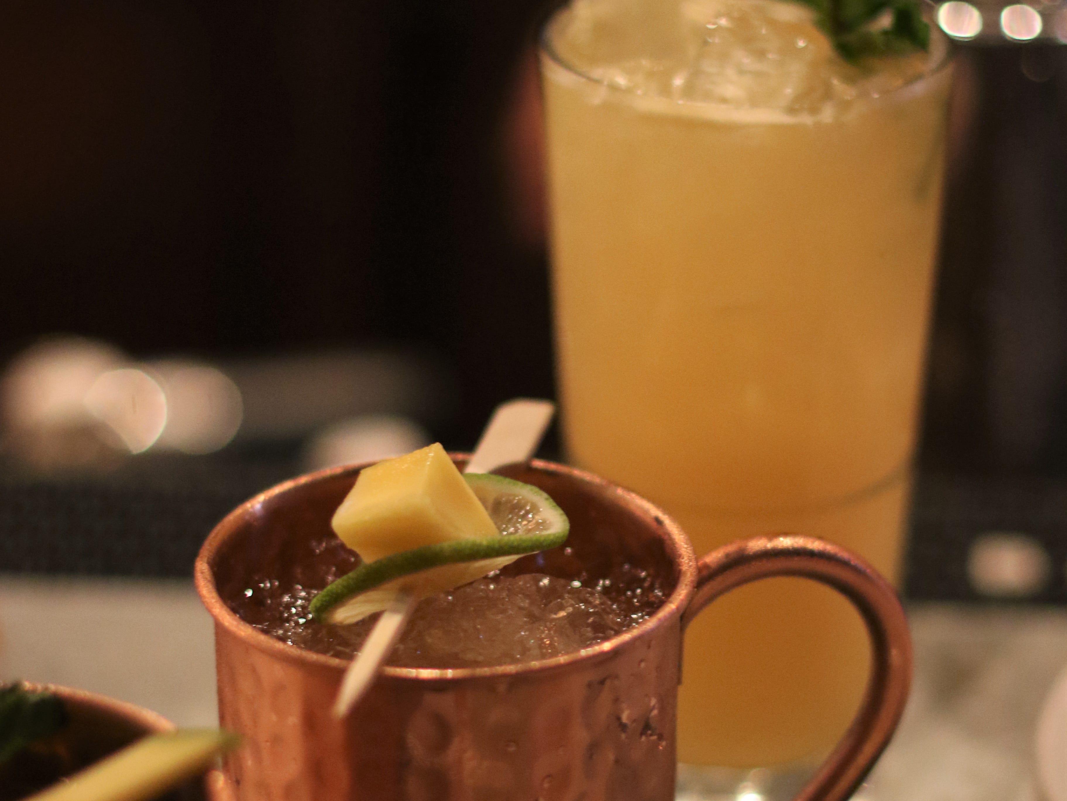 A round of competition cocktails at Brutal Bar on Nov. 5, 2019.