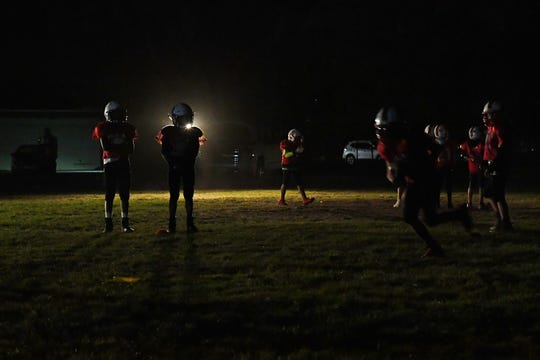 The Salinas Cardinals Junior Pee Wee team is made up of nine- to 11-year-olds from all over Salinas, Marina and Seaside.