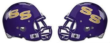 San Saba Armadillos football helmet logo