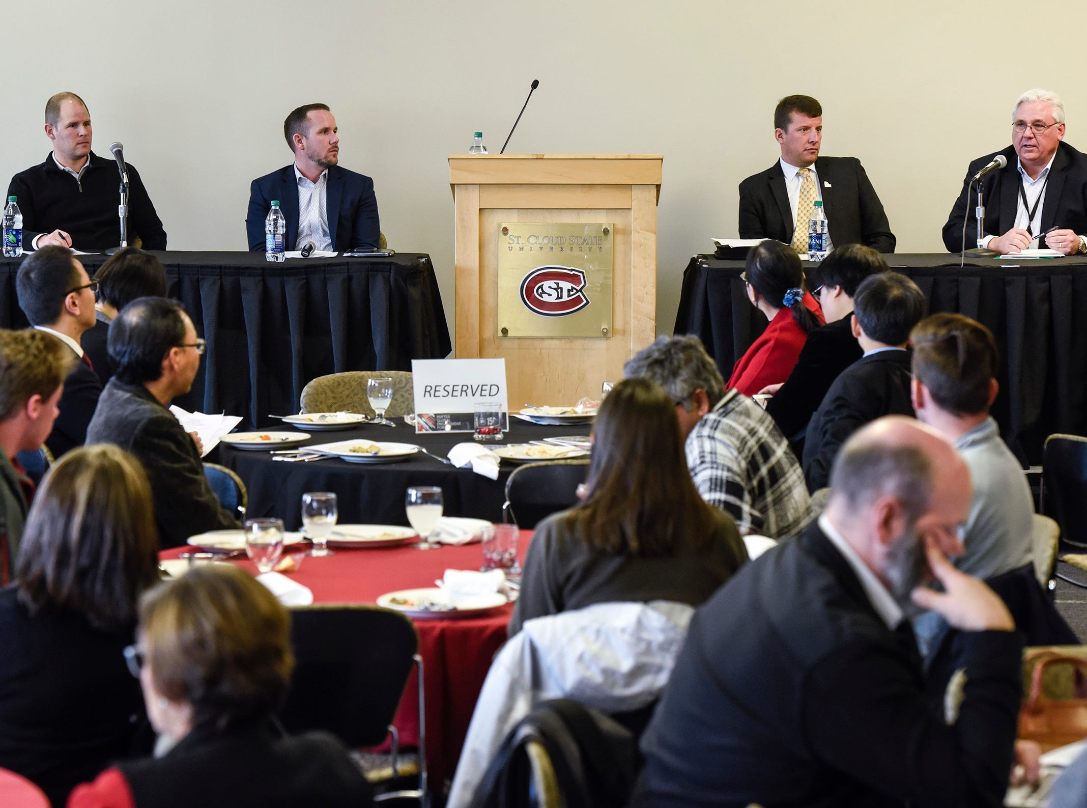 CEOs from DeZURIK, Microbiologics and Central McGowan talk tariff impacts at SCSU forum